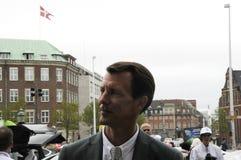 PRINS JOACHIMARRIVES PÅ TROFÉKÖPENHAMNMONTE - CARLO Royaltyfri Foto