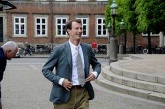 PRINS JOACHIMARRIVES PÅ TROFÉKÖPENHAMNMONTE - CARLO Fotografering för Bildbyråer