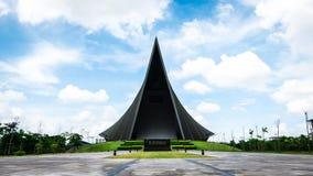 Prins Mahidol Hall De grote zaal als juist trefpunt voor de graduatie ceremon Stock Foto's