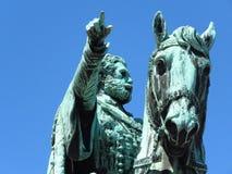 Prins Mihailo Monument royaltyfria foton