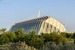 Prins Philip Science Museum av staden av konster och vetenskaper arkivfoton