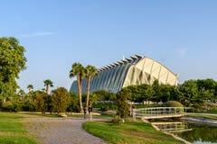 Prins Philip Science Museum av staden av konster och vetenskaper royaltyfri fotografi