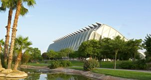 Prins Philip Science Museum av staden av konster och vetenskaper arkivfilmer