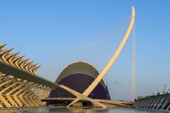 Prins Philip Science Museum och marknadsplats av staden av konster och vetenskaper royaltyfri foto