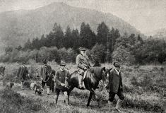 Prins Regent van Beieren Luitpold Stock Foto's