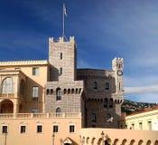 Prins slott, Monaco Arkivfoto