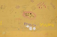 Prins som bevaras minnet av på väggar Royaltyfri Fotografi