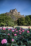 Prins Street Gardens Edinburgh, Schotland Royalty-vrije Stock Foto's