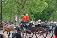 Prins William en Kate Middleton stock afbeelding