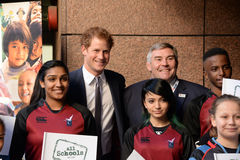 Prinsen Harry ska delta i dagen för ettårig växtICAP-välgörenhet arkivfoto