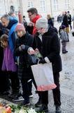 PRINSEN HENRIK PASSERAS BORT PÅ 13 FEBRUARI 2018 Royaltyfria Bilder