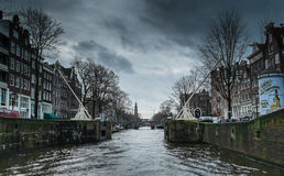 Prinsengracht in Amsterdam Stock Photography