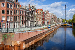 Prinsengracht Canal in Amsterdam Stock Image