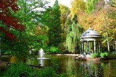 Prinsens trädgård i Aranjuez Arkivfoto