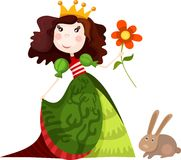 Prinses vector illustratie