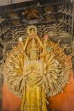 Prinses Buddha met 1000 Handen (Guanyin) Stock Afbeeldingen