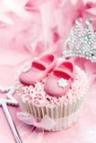 Prinses cupcake Stock Fotografie