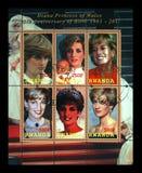 prinses Diana, circa 2011, Rwanda, Royalty-vrije Stock Fotografie