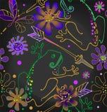 Prinses Frog met een pijl stock illustratie