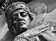 Prinses Olga - eerste bekende vrouwelijke heerser van land Pasen zwart-wit Stock Afbeelding