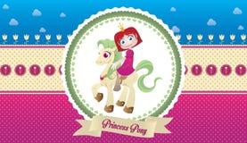 Prinses Pony Stock Afbeelding
