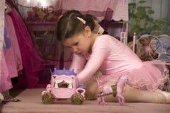 Prinses thuis royalty-vrije stock foto's