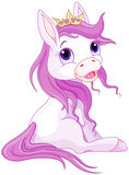 Prinsespaarden Royalty-vrije Stock Foto