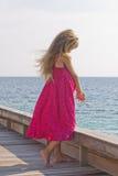 Prinsess pequenos pensativos imagem de stock royalty free