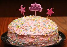 Prinsessa Birthday Cake Royaltyfri Bild