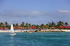 Prinsessa Cays Beach Panorama Royaltyfri Bild