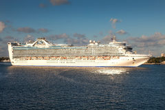 Prinsessa Cruise Ship Royaltyfri Fotografi