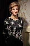 Prinsessa Diana av den Wales vaxstatyn royaltyfri bild