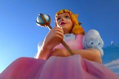 Prinsessa Float Prop royaltyfri bild