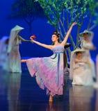 Prinsessa`-Ning ` - den första handlingen: `en för prinsessa för ` för drama för mullbärsträdträdgård-epos dans den siden-, arkivbilder