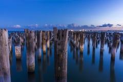Prinsessa Pier på solnedgången Royaltyfri Bild