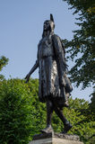 Prinsessa Pochontas Statue Royaltyfri Fotografi