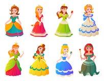 Prinsessatecken - uppsättning Arkivbilder