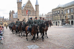 Prinsjesdag Cavalry Stock Photos