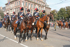 Prinsjesdag Cavalry Royalty Free Stock Photos