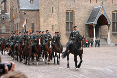 Prinsjesdag Cavalry Stock Photo