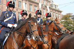 Prinsjesdag Cavalry Stock Photography