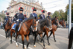 Prinsjesdag Cavalry Stock Images