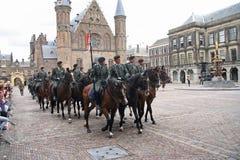 Prinsjesdag Kavallerie Stockfotos