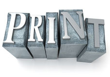 The print Stock Photography