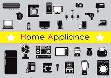 Set of home appliance stock illustration