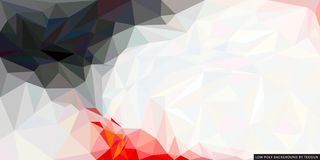 Low poly style background. Abstract graphic effect. Design layout background stock illustration