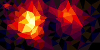 Low poly style background. Abstract graphic effect. Design layout background royalty free illustration
