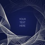 Spiral line abstract background royalty free illustration