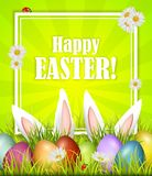 Easter holiday greeting card. Vector stock images