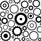 Seamless pattern with gears royalty free illustration